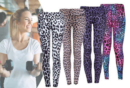 Panterprint sportlegging | Een musthave legging om binnen of buiten in te sporten