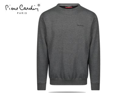 Pierre Cardin sweater | Comfortabele heren sweater van topkwaliteit Grijs