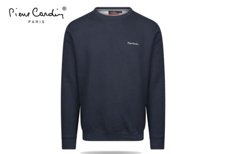Pierre Cardin sweater | Comfortabele heren sweater van topkwaliteit Navy