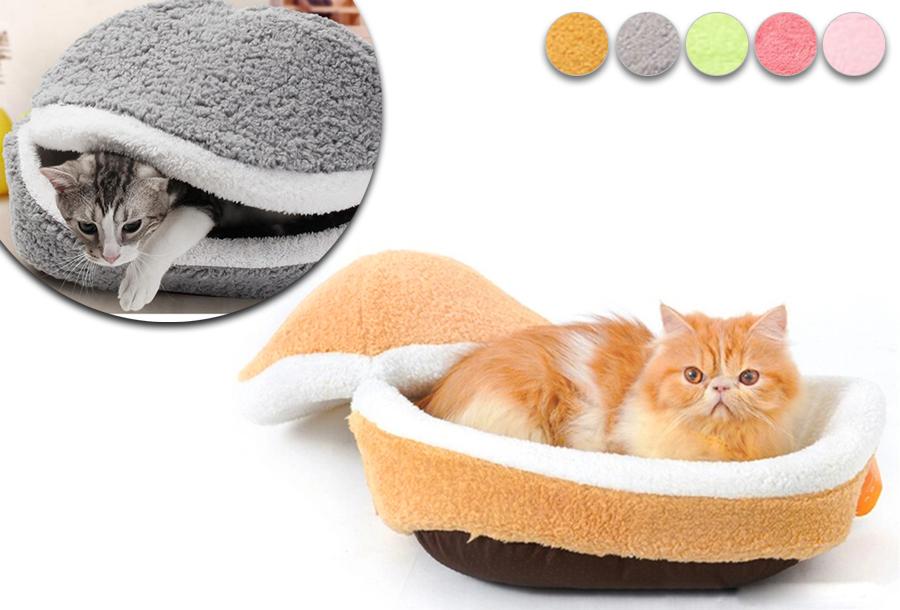 Hamburger kattenmand met hoge korting <br/>EUR 16.99 <br/> <a href='https://tc.tradetracker.net/?c=24550&m=1018120&a=321771&u=https%3A%2F%2Fwww.vouchervandaag.nl%2Fkattenmand-kattenbed-kat-huisdieren-korting' target='_blank'>Bekijk de Deal</a>