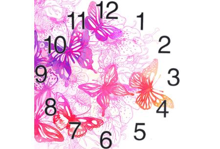 Diamond painting klokken | Fleur jouw muren op de meest creatieve manier op!  #1