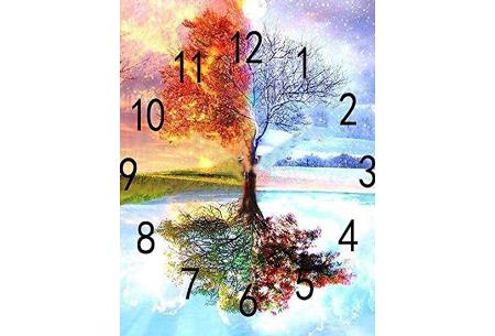 Diamond painting klokken | Fleur jouw muren op de meest creatieve manier op!  #2