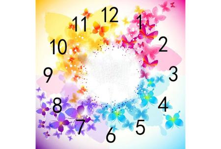 Diamond painting klokken | Fleur jouw muren op de meest creatieve manier op!  #5