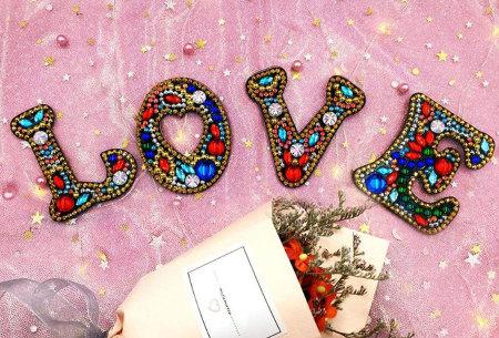 Diamond painting letter sleutelhanger | Maak je eigen sleutelhanger in letters A t/m Z!