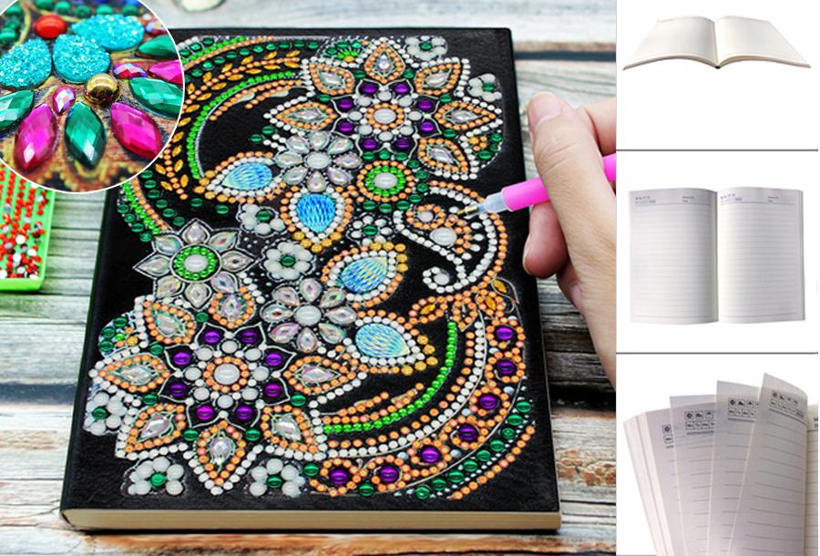 Diamond painting notitieboekje nu met korting