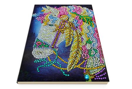 Diamond painting notitieboekje | Versier jouw eigen boekje op een super creatieve manier! #1