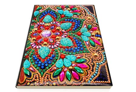 Diamond painting notitieboekje | Versier jouw eigen boekje op een super creatieve manier! #2