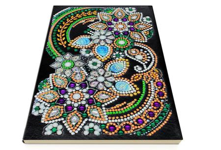 Diamond painting notitieboekje | Versier jouw eigen boekje op een super creatieve manier! #3