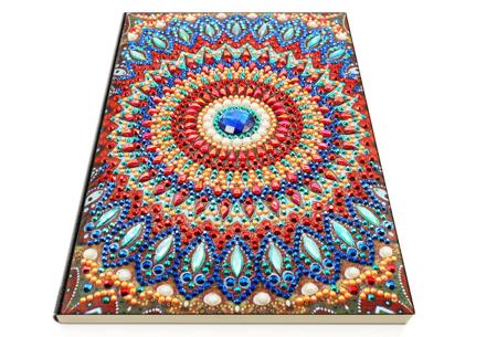 Diamond painting notitieboekje | Versier jouw eigen boekje op een super creatieve manier! #4