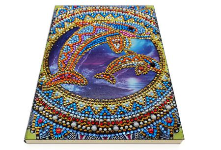 Diamond painting notitieboekje | Versier jouw eigen boekje op een super creatieve manier! #5
