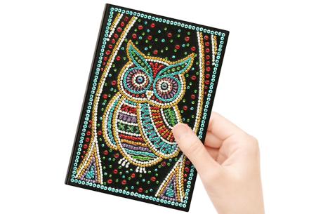 Diamond painting notitieboekje | Versier jouw eigen boekje op een super creatieve manier! #8