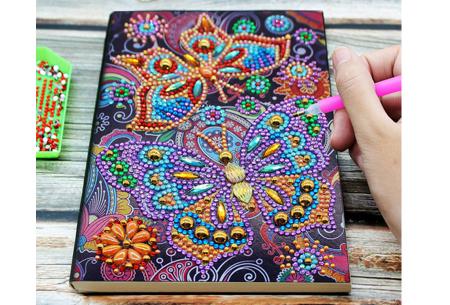 Diamond painting notitieboekje | Versier jouw eigen boekje op een super creatieve manier! #10