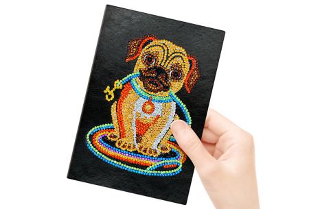 Diamond painting notitieboekje | Versier jouw eigen boekje op een super creatieve manier! #11
