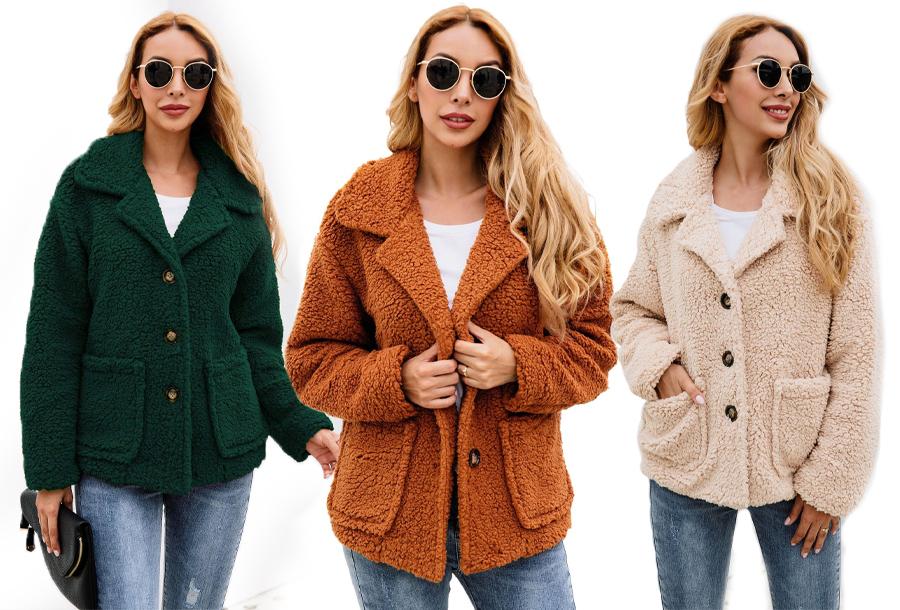 Teddy jasje | Heerlijk zachte en warme tussenjas voor een trendy look!