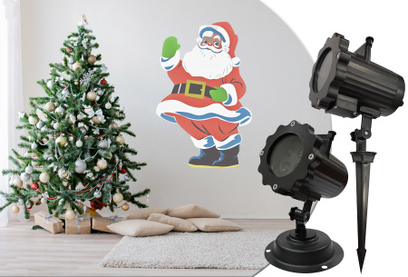 Benson Kerst laser projector lamp | 4 verschillende animaties instelbaar