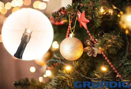 Grundig LED kerstverlichting | Energiezuinige lampjes voor binnen en buiten