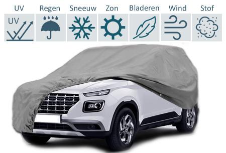 Autohoes | Bescherm jouw auto tegen zonlicht, regen en stof - keuze uit 3 maten