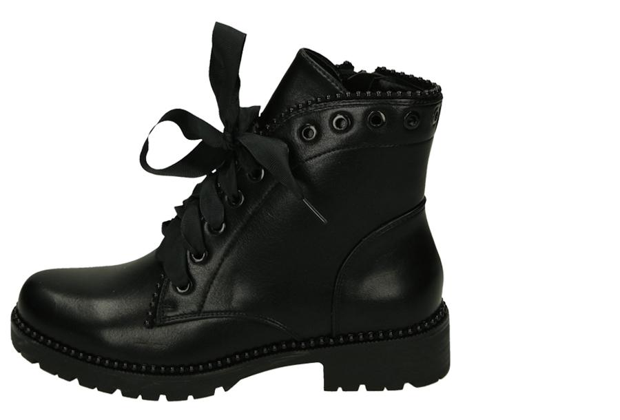 Zwarte biker boots Maat 41 - Model 2