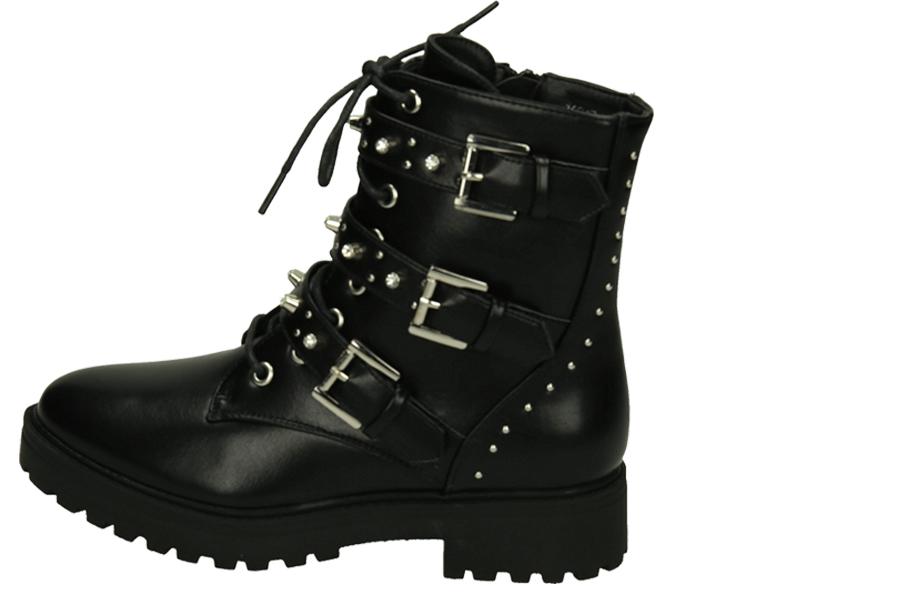Zwarte biker boots Maat 41 - Model 4