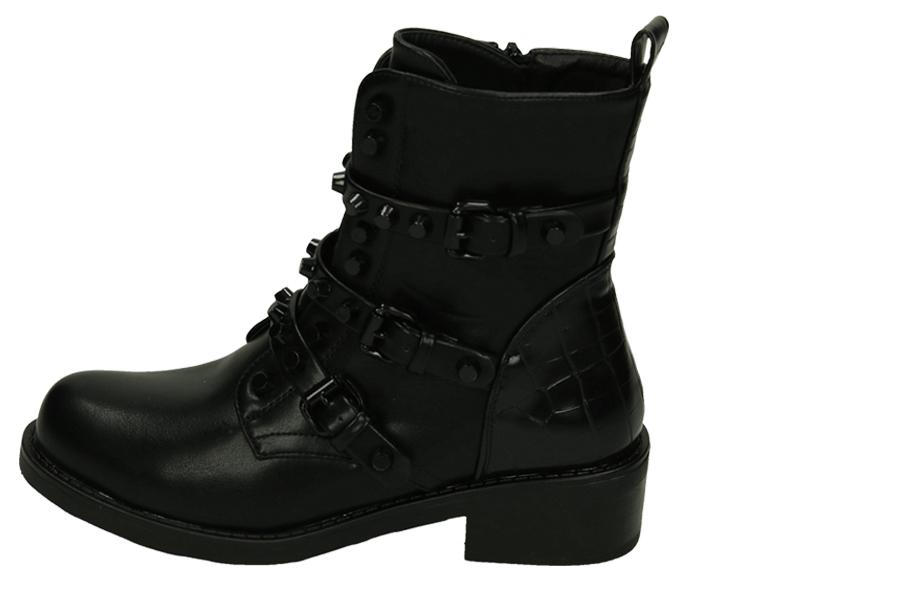 Zwarte biker boots Maat 41 - Model 3