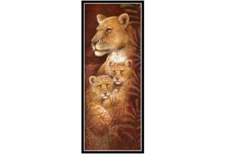 Sepia Diamond painting schilderijen | Keuze uit 9 bijzondere dieren #Leeuw optie 2