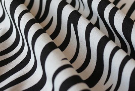 Dames blouse en jurk met stijlvolle zebraprint | Verkrijgbaar in 3 verschillende kleuren