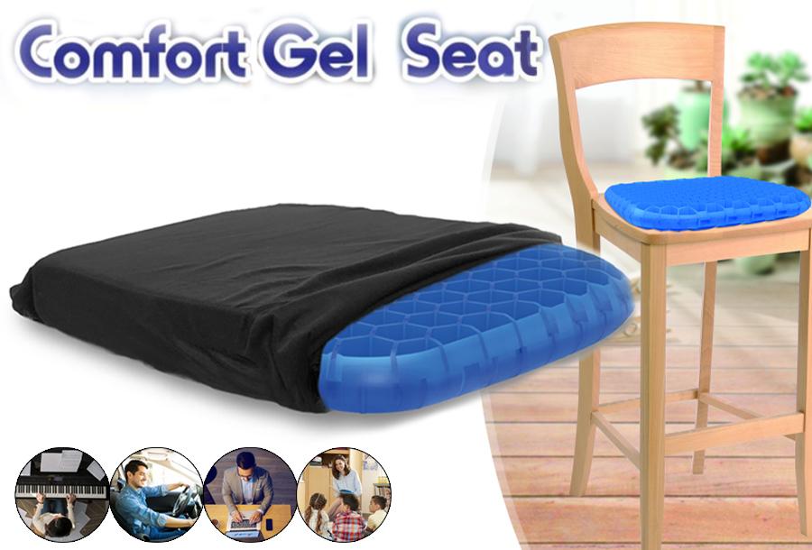 Comfort Gel Seat 2 x Comfort Gel Seat
