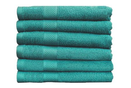 Luxe hotel handdoeken of badhanddoeken van 100% katoen | Diverse pakketten met oplopend set voordeel! spring green