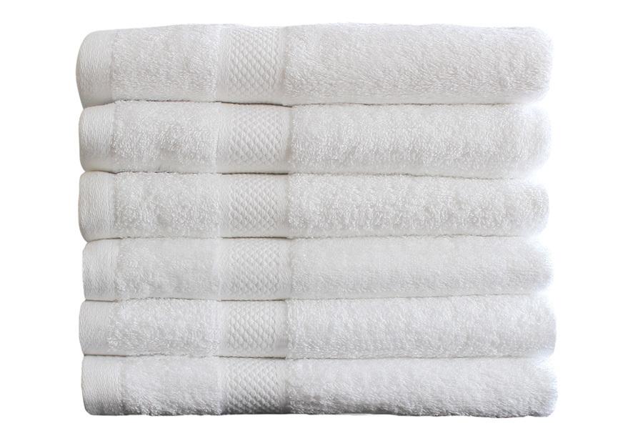 Set luxe handdoeken Wit - 70x140cm - 15 st - 500 gr
