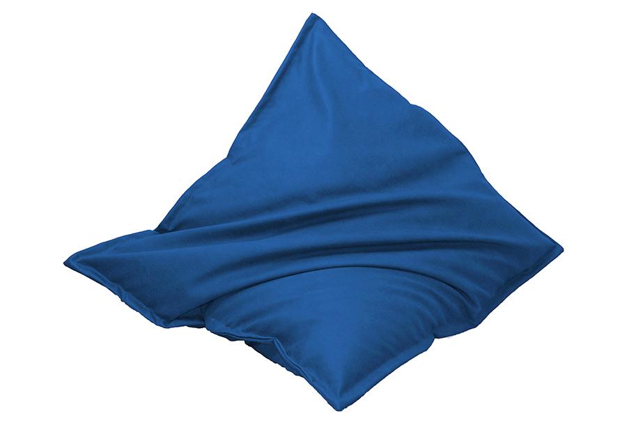 Drop & Sit zitzak met lederlook Maat 130 x 150 cm - Kobaltblauw