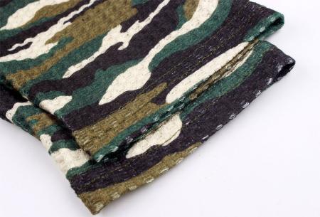 Camouflage dames trui nu met 60% korting