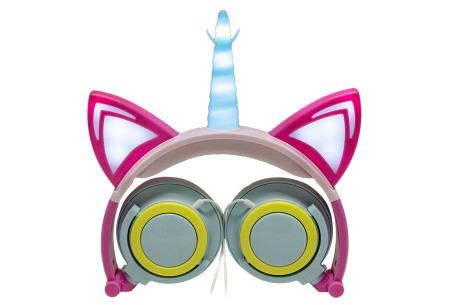 Unicorn koptelefoon | Luister naar jouw favoriete muziek op een super originele manier - voor jong en oud! #1