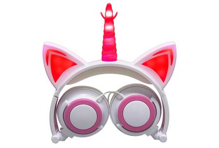 Unicorn koptelefoon | Luister naar jouw favoriete muziek op een super originele manier - voor jong en oud! #2