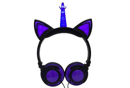 Unicorn koptelefoon | Luister naar jouw favoriete muziek op een super originele manier - voor jong en oud! #3