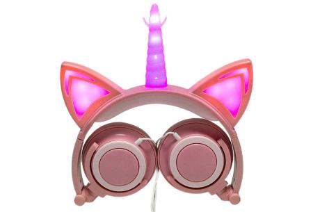 Unicorn koptelefoon | Luister naar jouw favoriete muziek op een super originele manier - voor jong en oud! #5