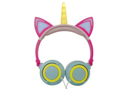 Unicorn koptelefoon | Luister naar jouw favoriete muziek op een super originele manier - voor jong en oud! #6