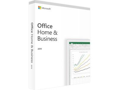 Microsoft Office 2019 | Kies uit 4 pakketten voor thuis of op kantoor Home & Business