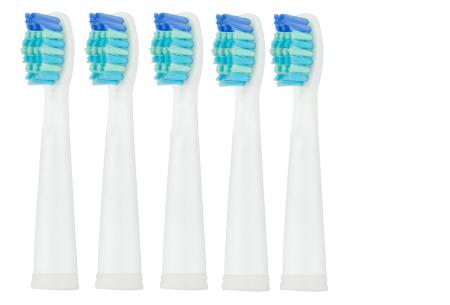 Elektrische tandenborstel | Voor een stralend schoon gebit + extra accessoires Opzetborstels - Wit