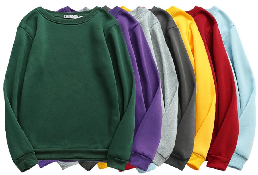 Basic dames sweater - nu met korting