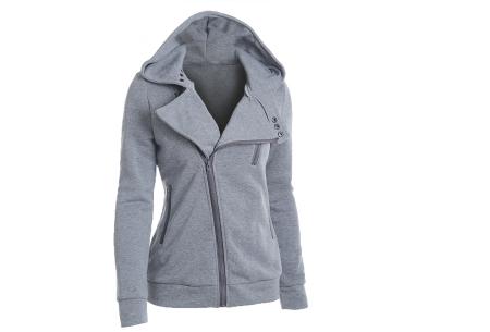 Basic Zipper vest | Sportief kledingstuk met fleece binnenzijde Grijs