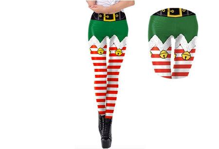 Kerstlegging | Originele en grappige leggings in diverse prints!  #1