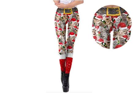 Kerstlegging | Originele en grappige leggings in diverse prints!  #4