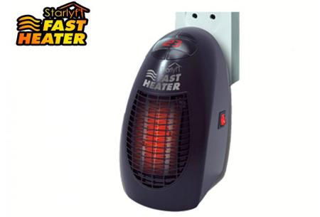 Starlyf fast heater | Maakt elke ruimte razend snel heerlijk warm!