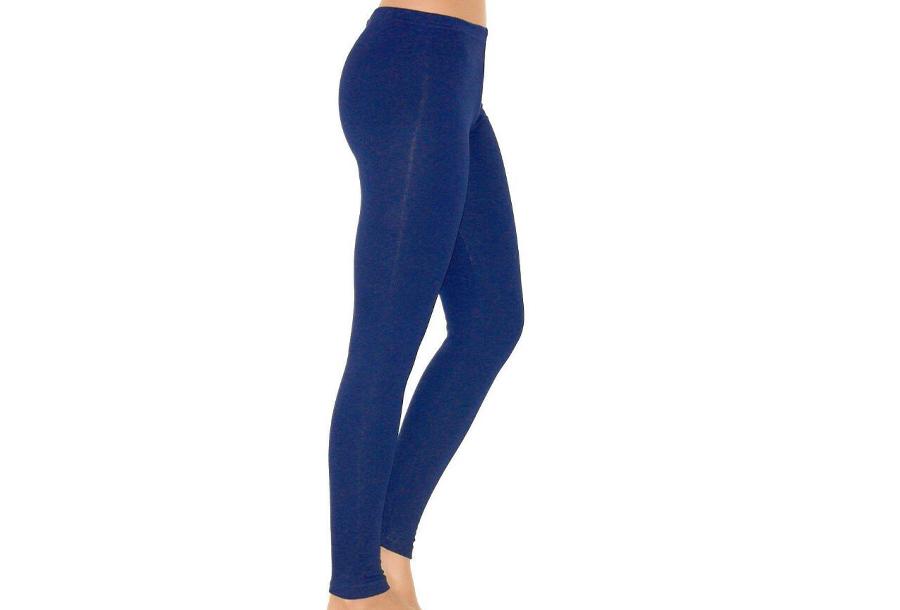 Basic legging Basic legging - maat 2XL - kobaltblauw + zwart