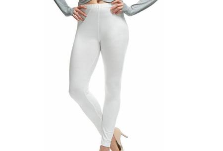 Basic legging   Super stretchy en comfortabel - nu + GRATIS zwarte legging! Wit
