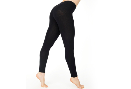 Basic legging   Super stretchy en comfortabel - nu + GRATIS zwarte legging! Zwart