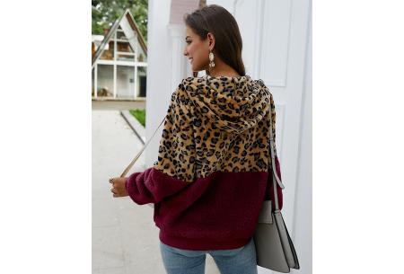 Dames vest met panterprint | Super comfy kledingstuk met gevoerde binnenzijde!
