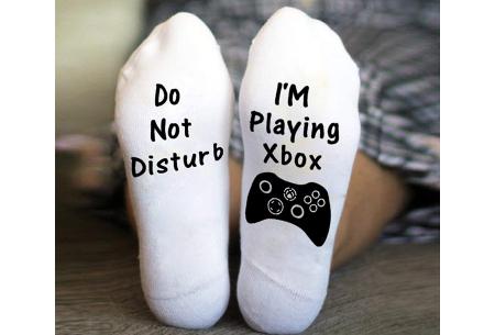 'Do not disturb' sokken | Origineel cadeau om te geven of te krijgen! #B