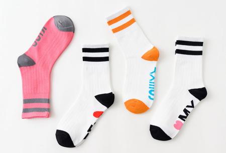 Dames sokken met tekst | Verras je partner met een originele boodschap!