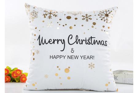 Kerst kussenhoes | Breng direct de gezellige kerstsfeer in huis!  A
